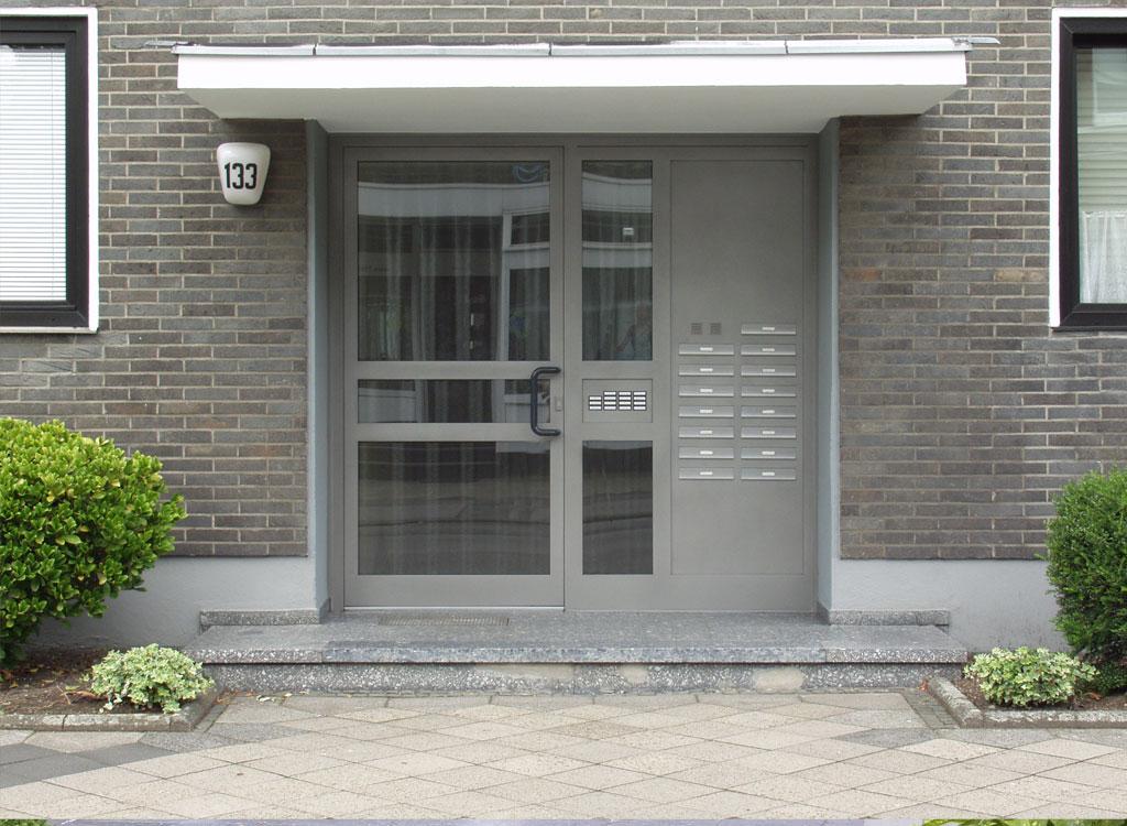 graute aluminium briefkastenanlagen. Black Bedroom Furniture Sets. Home Design Ideas