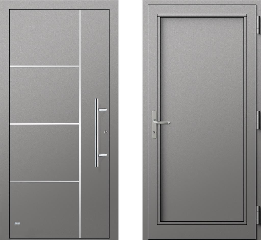 geschlossene haust r. Black Bedroom Furniture Sets. Home Design Ideas