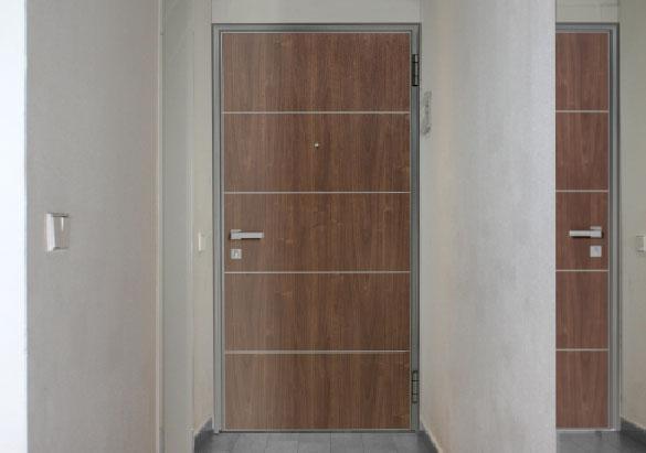 Wohnungseingangstür weiß  Graute Aluminium: Sichere Wohnungstür