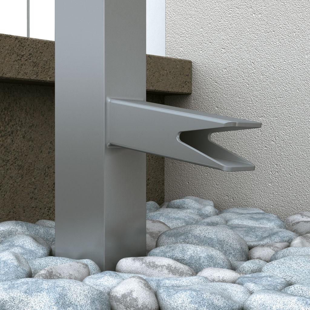 graute aluminium das vordach vord cher aus aluminium und berschubvord cher. Black Bedroom Furniture Sets. Home Design Ideas